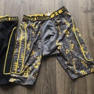 Under Armour Shorts - Under Armour Compression pants sz L/XL